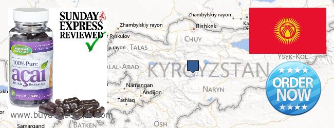 Where to Buy Acai Berry online Kyrgyzstan